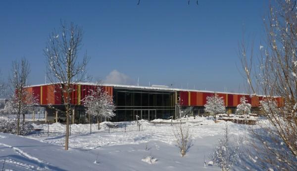 Unsere Schule im Winter